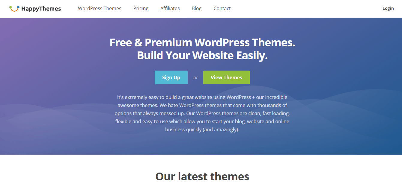 HappyThemes Review: SEO Ready Themes For 2019