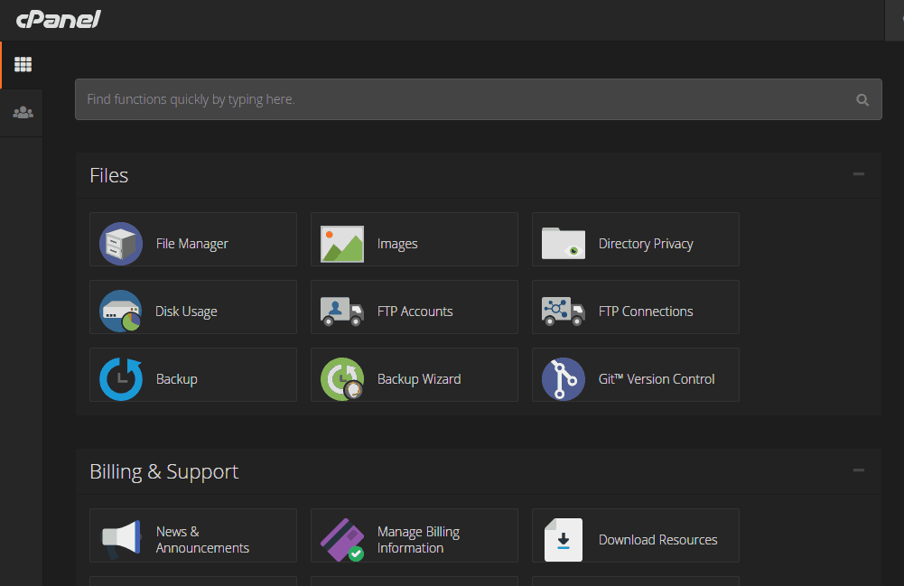 Create an FTP Account In cPanel