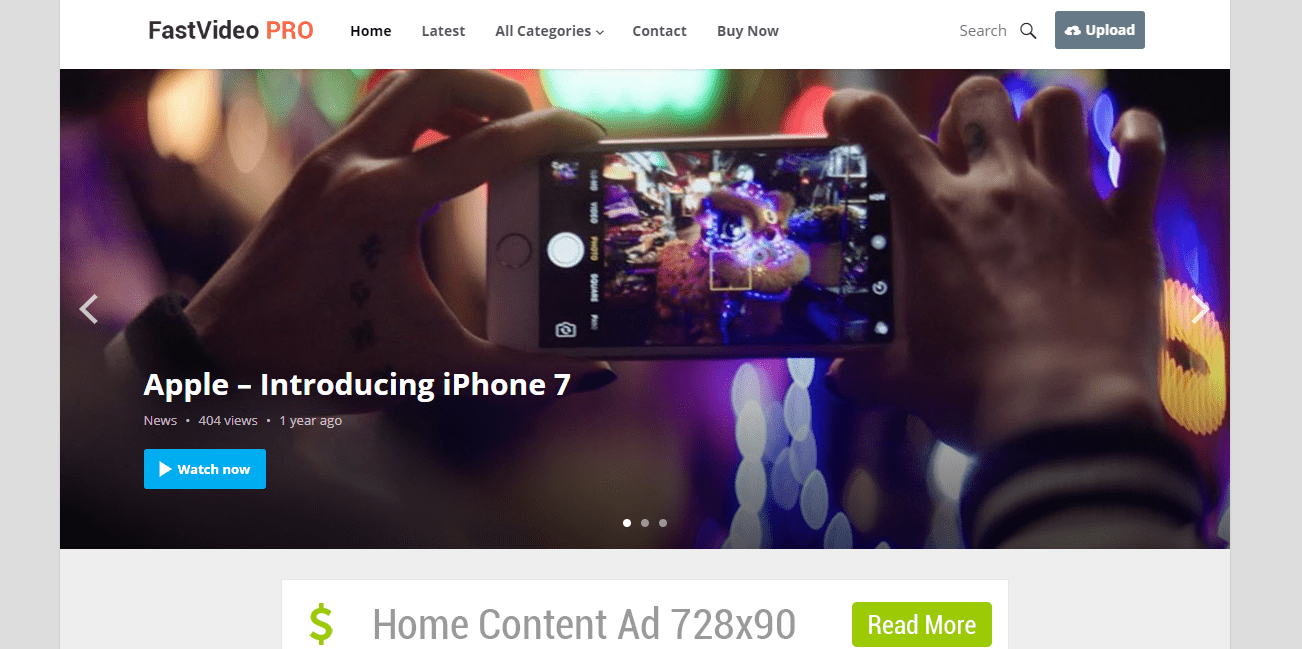 HappyThemes FastVideo Theme Review