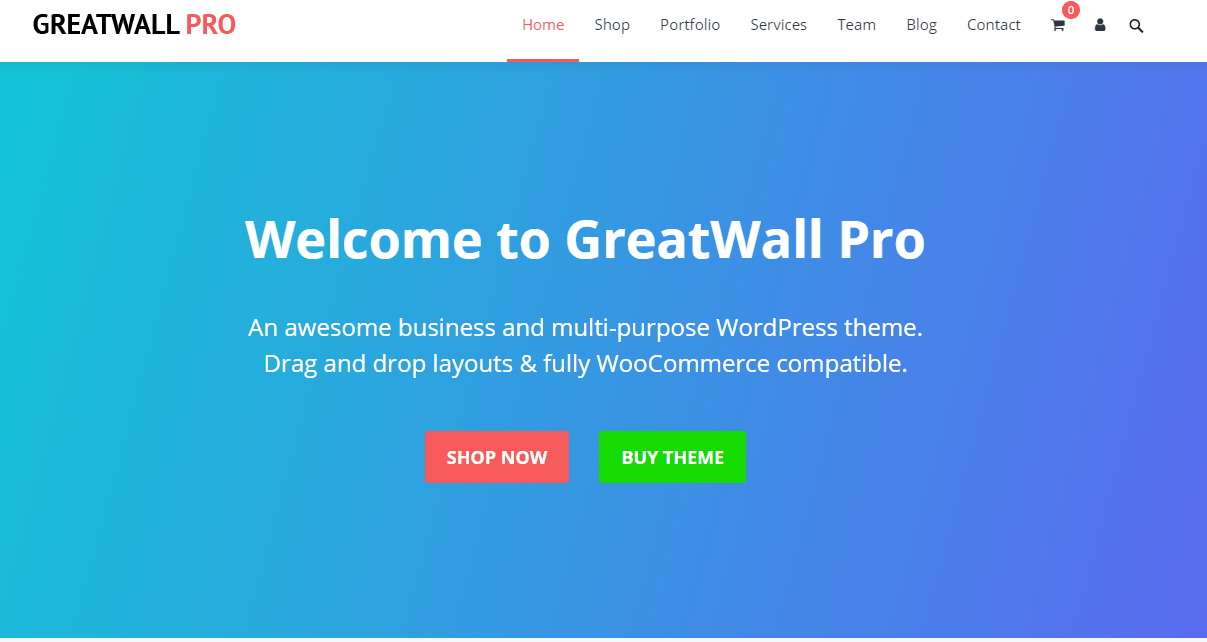 GreatWall Theme Review