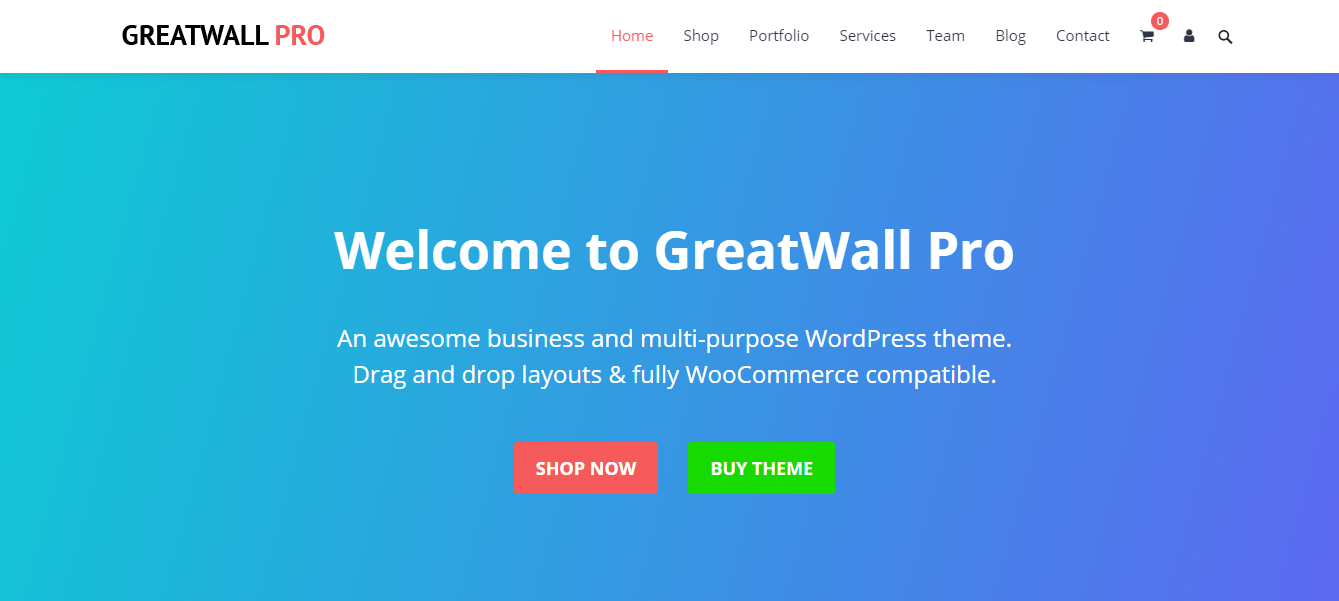 greatwall wordpress theme