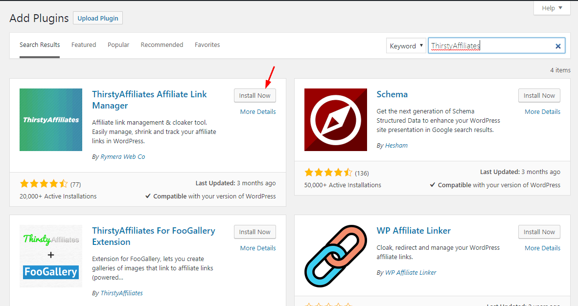 Clock Affiliate Links In WordPress