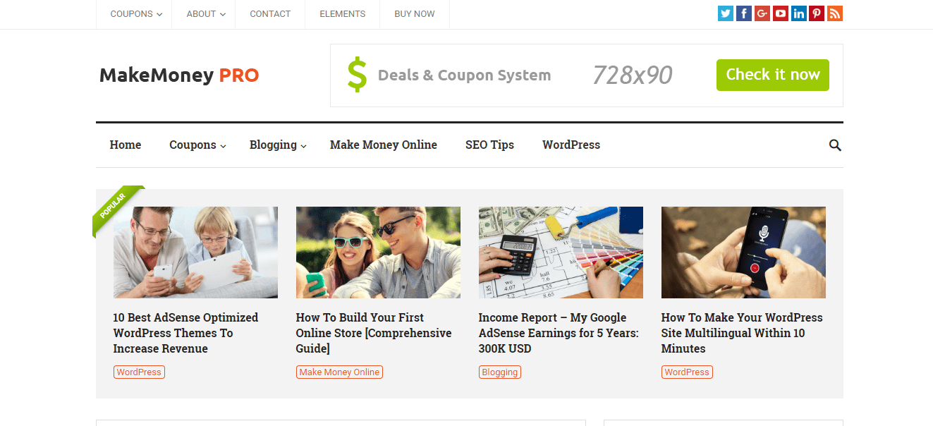 makemoney wordpress theme