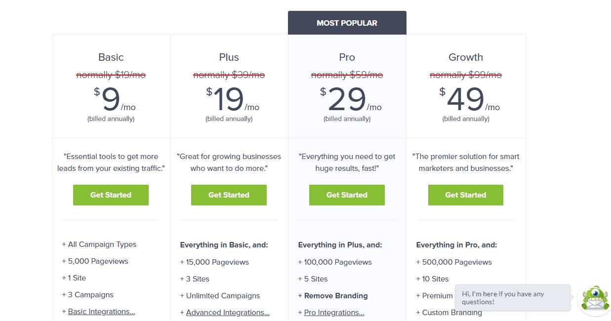 opyinmonster es pricing