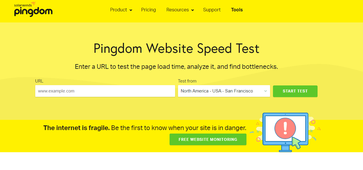 Pingdom Tool – Check Your Website Speed Now!