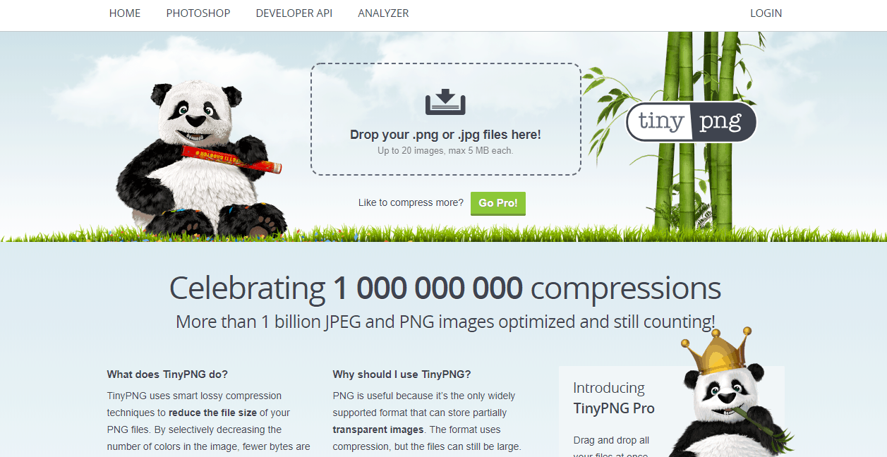 How To Use TinyPNG For Compressing Images Online