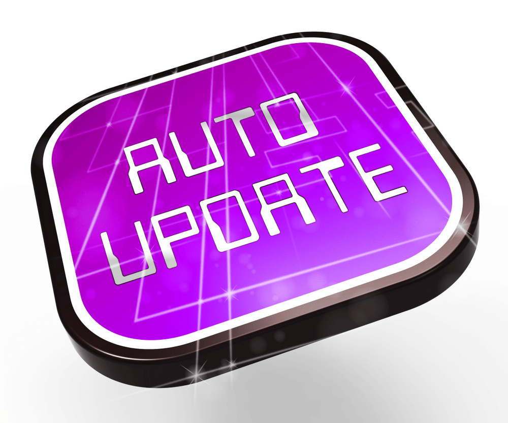 automatic updates in wordpress.com