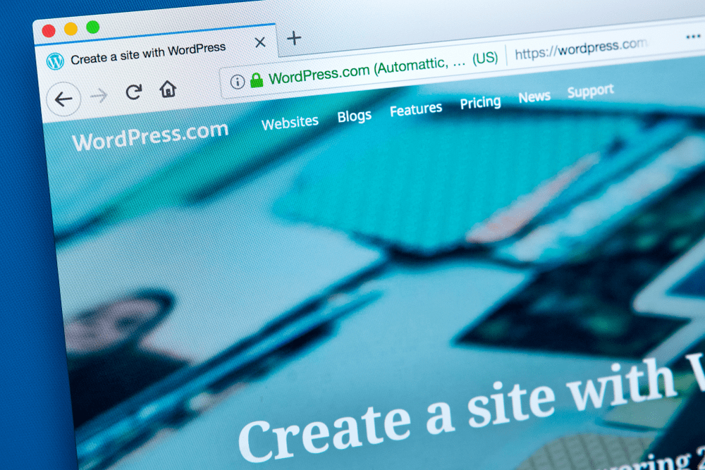 wordpress.com official website