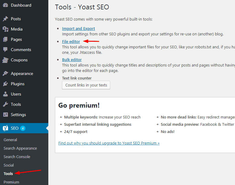WordPress Directory Browsing