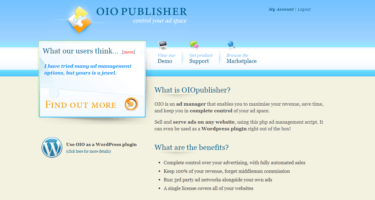 oiopublisher wordpress plugin