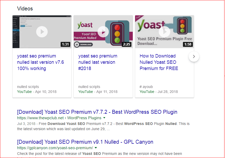 yoast seo nulled plugins
