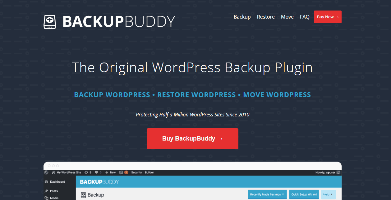 ithemes backupbuddy plugin