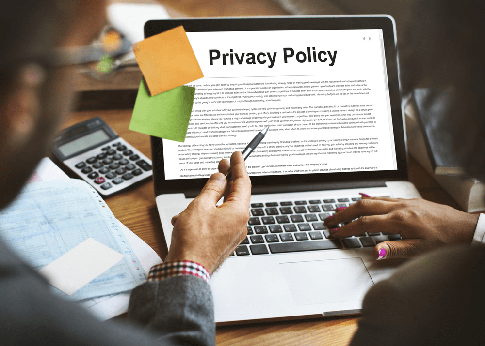 privacy policy page for media.net approval
