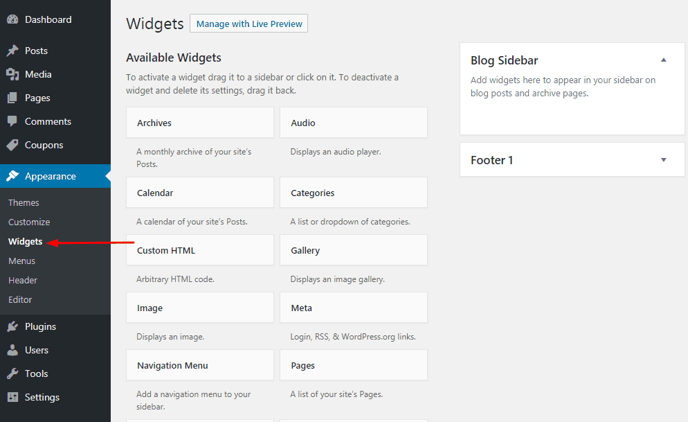 How To Make WordPress Sidebar Widget Sticky