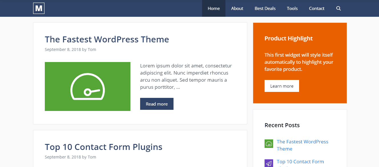 GeneratePress Review: #1 Multi-Purpose Freemium WordPress Theme