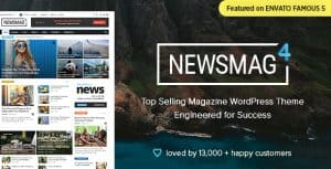 Newsmag WordPress theme review