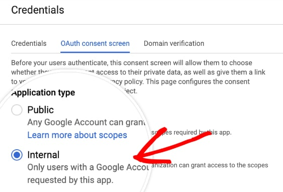 gmail oauth credentials