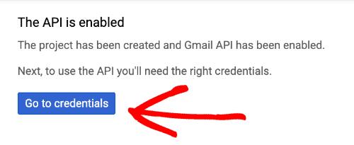 google api enabled