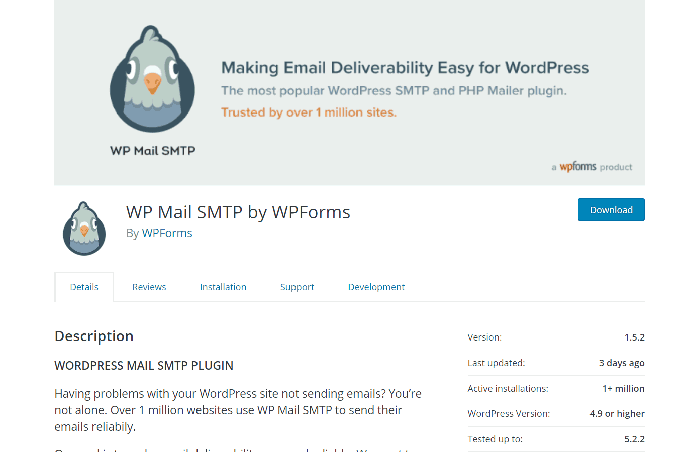 wp mail smtp free version
