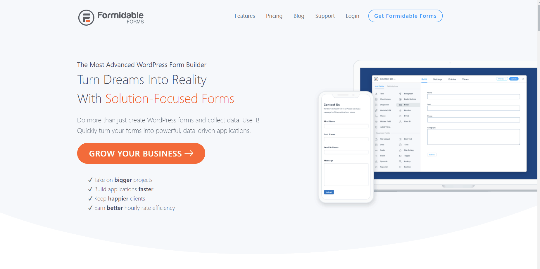 formidable forms and mailchimp