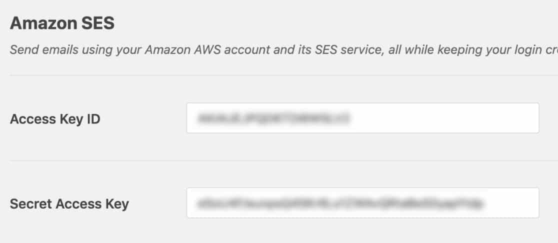 aws access keys