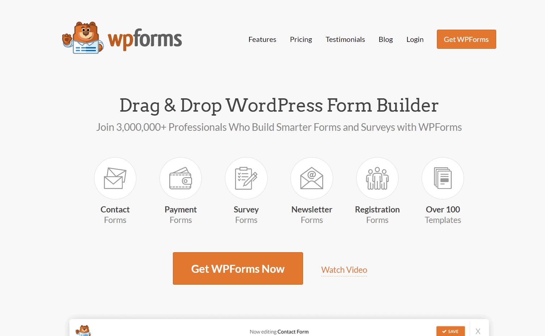 wpforms premium plugin