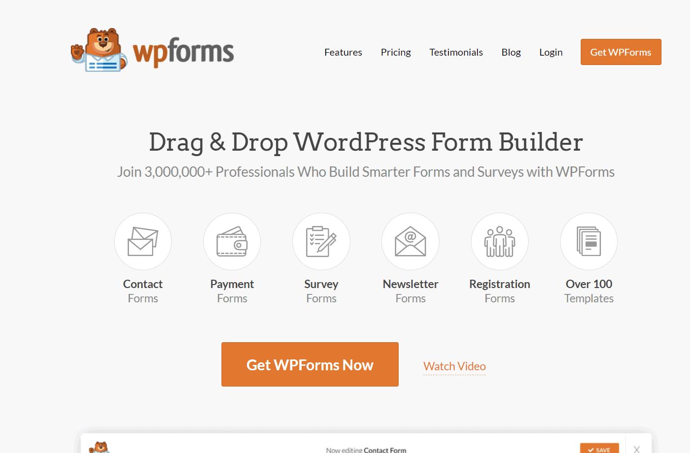 wpforms premium
