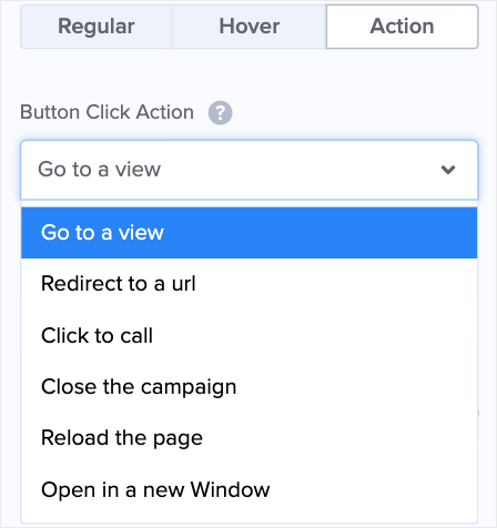 button actions