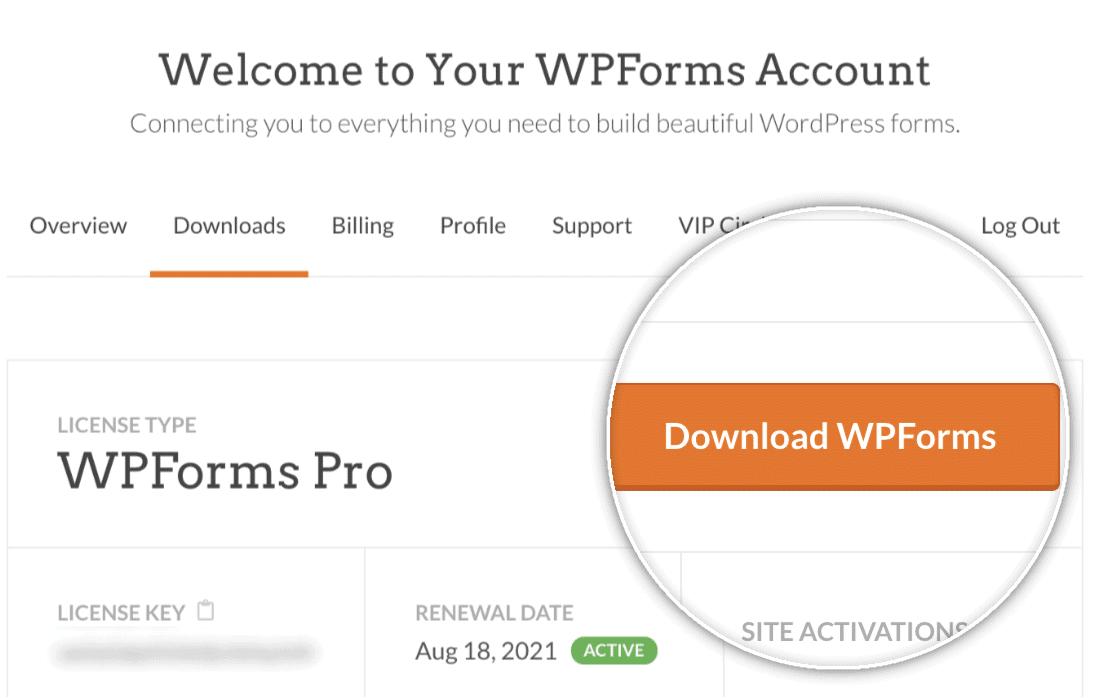download wpforms