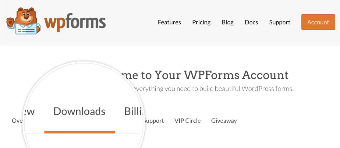 wpforms downloads