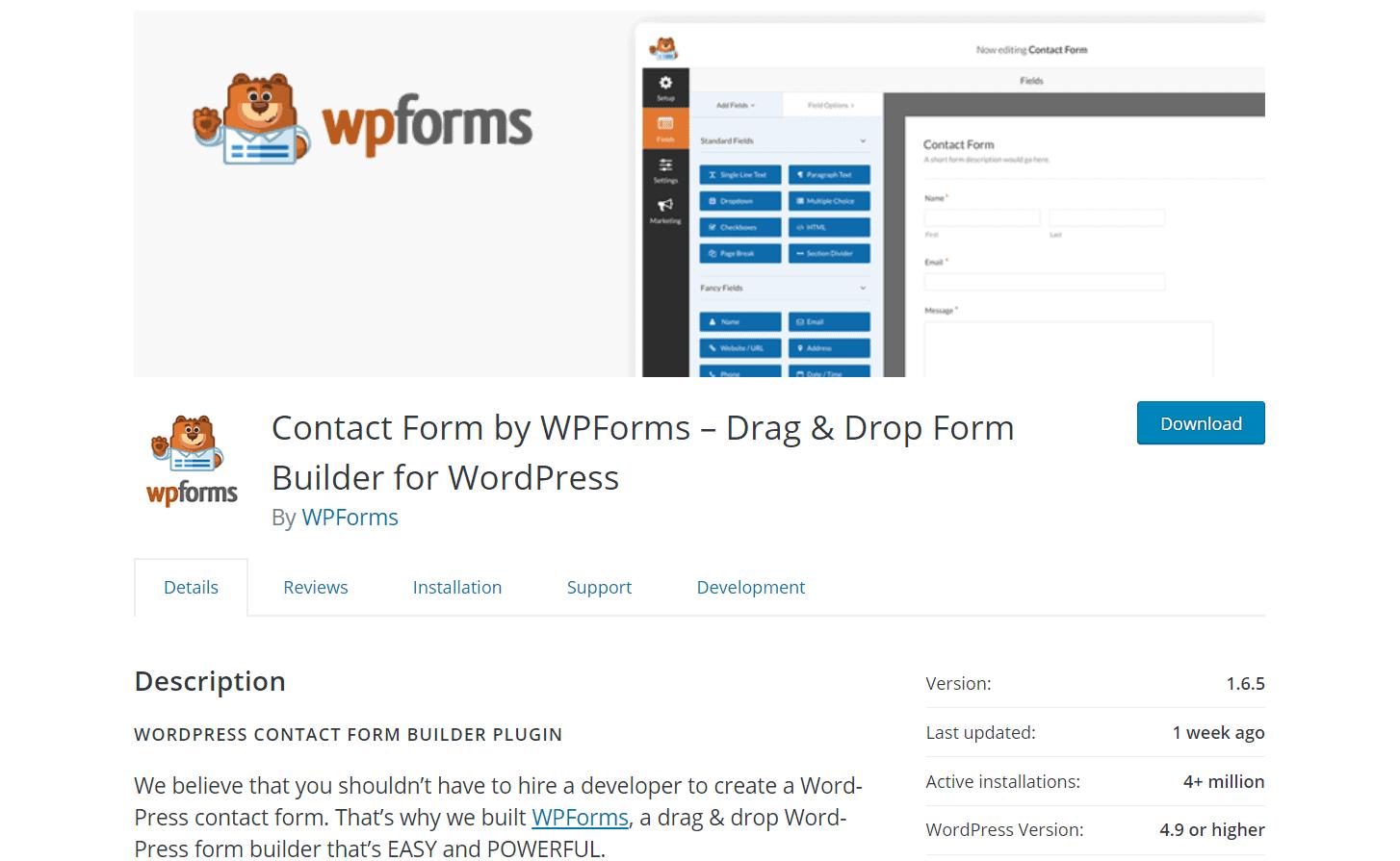 wpforms free